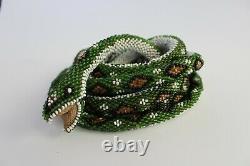 Beaded Snake Made By An Ottoman Prisoner Of War