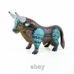 Bull Oaxacan Alebrije Wood Carving