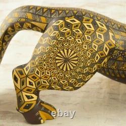 Magia Mexica A2093 Fox Alebrije Oaxaca Wood Carving Handcraft
