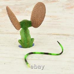 Mouse Alebrije Oaxacan Wood Carving A1784 Magia Mexica