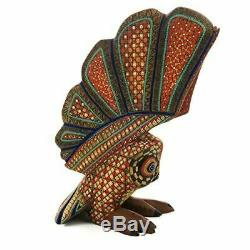 OWL Oaxacan Alebrije Wood Carving Mexican Folk Art Sculpture by Nestor Melchor