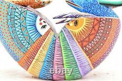 Oaxaca Armadillo Alebrije Wood Carving Mexican Folk Art Reny Fuentes Y Reyna 10