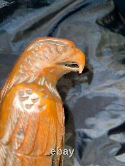 Rare Junior Cobb Wood Carving Eagle 11