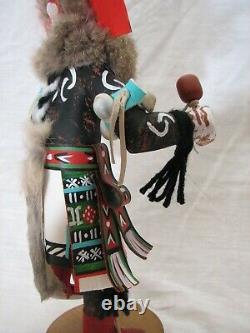 Signed Hand Carved Hopi Hemis Kachina Doll Native American Folk Art