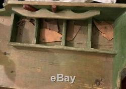 Vintage Animated Automaton Cobbler Store Display Hand Carved Folk Art 1930s Rare