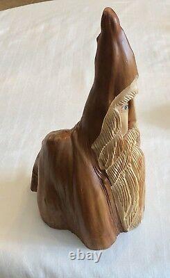 14 Cypress Knee Elf Gnome Wood Spirit Tree Hand Carved By Nc Artist J. D. Price