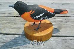 Anthony Hillman Oriole Songbird Shorebird Leurre De Canard Art Populaire Cape May