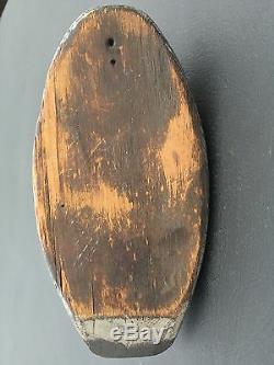 Bois Sculpté Canard Decoy. De-musée D'art De Versé Aux Archives American Folk