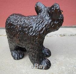 Carving Chainsaw Ours Sculpture En Bois Folk Art