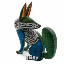 Coyote Oaxacan Alebrije Sculpture Sur Bois Art Populaire Mexicain Sculpture Nestor Melchor