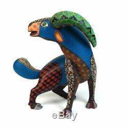 Goat Oaxacan Alebrije Animaux Sculpture Sur Bois Sculpture Art Populaire Mexicain Fait À La Main