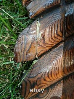 Gorgeous Life Size Huge 8 3 Wingspan Carved Wood Folk Art Soaring Flying Eagle