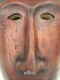 Guatemala Sculpture Main Gens Guatemala Masque En Bois Es. Red Devil Détaillé