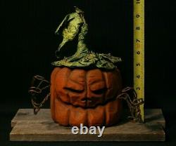 La Sculpture En Bois De Citrouille, La Sculpture À La Tronçonneuse, L'art Populaire Du Bois Shrum