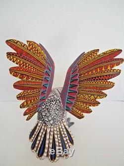 Oaxaca Découpages Alebrije Incroyable Chouette Art Populaire Mexicain