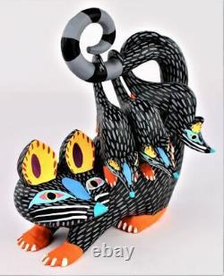 Oaxacan Sculpture Sur Bois Armando Jimenez Possum Oaxaca Mexican Folk Art Alebrije