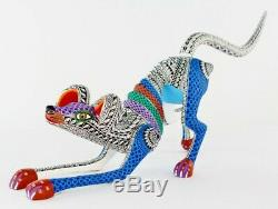 Oaxacan Sculpture Sur Bois Lauro Ramirez Lg Dog Oaxaca Bony Art Populaire Mexicain Alebrije