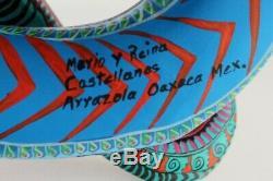 Oaxacan Sculpture Sur Bois Mario Castellanos Serpents Oaxaca Art Populaire Mexicain Alebrije