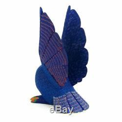 Owl Oaxacan Alebrije Sculpture Sur Bois Folk Art Sculpture Damian & Beatriz Morales