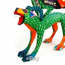 Pepita Oaxacan Alebrije Sculpture Sur Bois Art Populaire Mexicain Sculpture