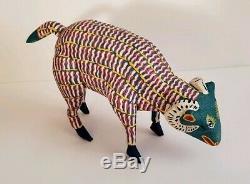 Ram Oaxacan Alebrije Sculpture Sur Bois Art Populaire Mexicain Sculpture Margarito Melchor